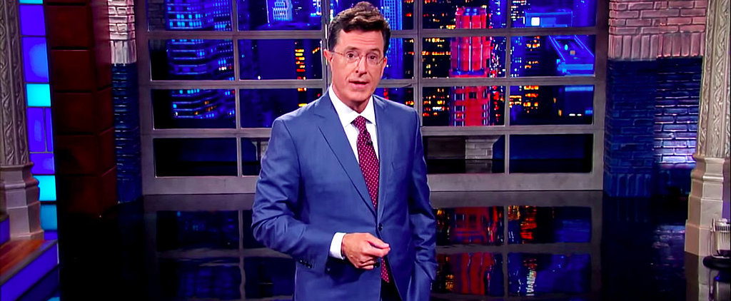 Witness History With Stephen Colbert's Very First Late Show Monologue
