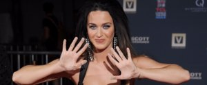 Katy Perry Goes Old Hollywood For Her Sexy, Silly Handprint Ceremony