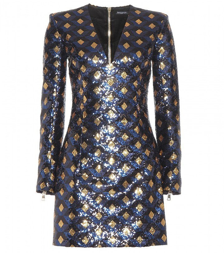 Balmain Sequin Dress ($3,512)