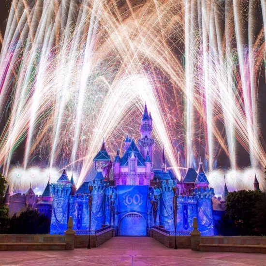 Disneyland Fireworks Photos
