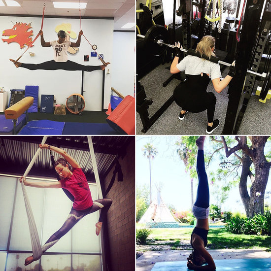 Let These Celebrities Inspire Your Next Workout Session