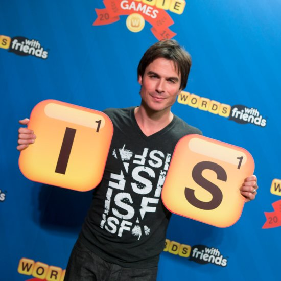 Ian Somerhalder at the 2015 Wordie Games