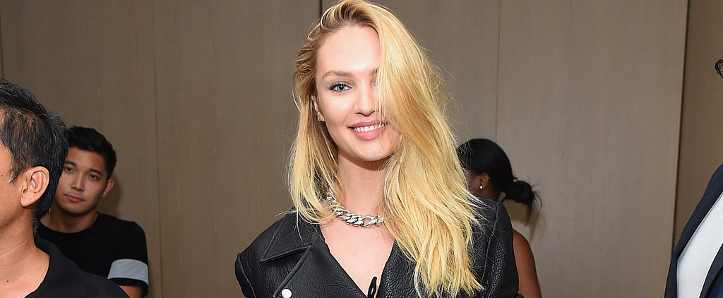 Candice Swanepoel Just Debuted Her Engagement Ring at NYFW