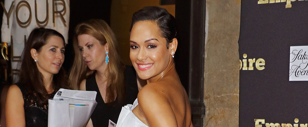 Empire's Grace Gealey Shows Off Her Massive Engagement Ring on the Red Carpet