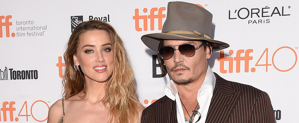 Amber Heard and Johnny Depp Bring Their Love to Toronto