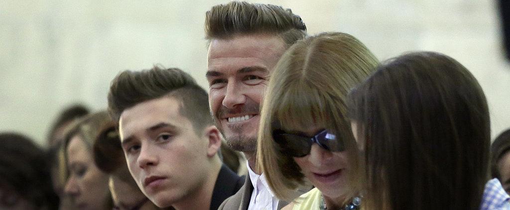 The Beckhams Turn NYFW Into a Family Affair