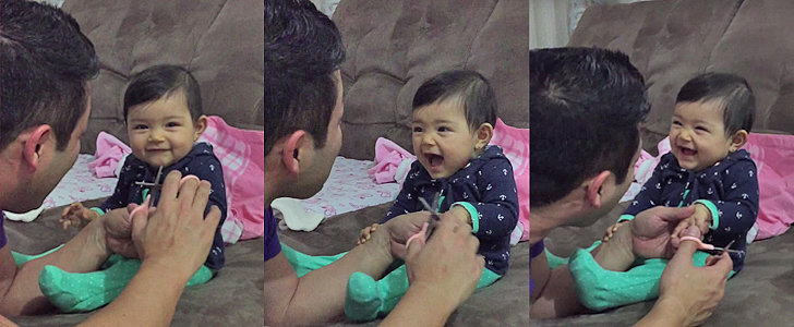 This Baby Getting Her First Manicure Will Make You Laugh