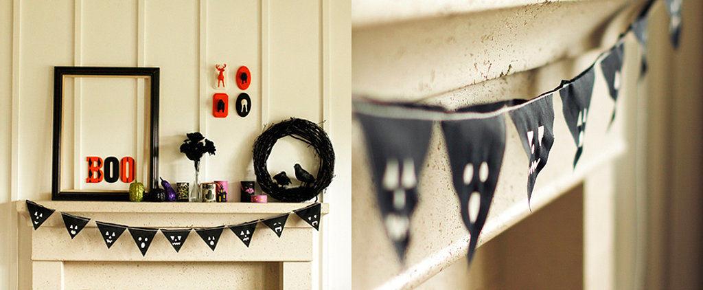 If You're Not Into Carving Pumpkins, This DIY Jack-o'-Lantern Banner Is Perfect For You