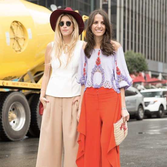 Culottes Street Style Trend at Fashion Week