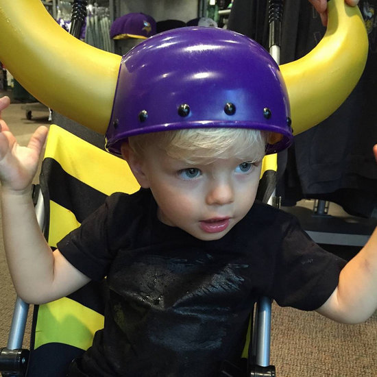 Axl Duhamel in a Minnesota Vikings Hat 2015 | Picture