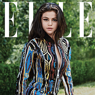 Selena Gomez on the Cover of Elle Magazine October 2015