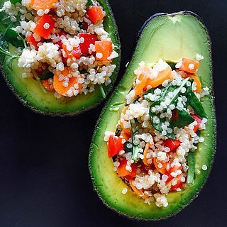 Lunch Just Got More Fun With This Stuffed Avocado Salad