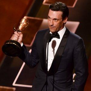 Jon Hamm Thanks Jennifer Westfeldt in Emmys Speech