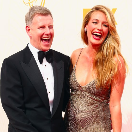 Pregnant Cat Deeley and Patrick Kielty at the Emmy Awards