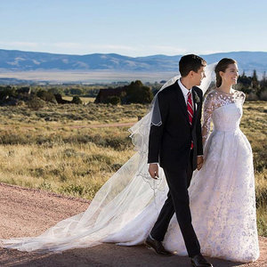 Allison Williams Wedding Dress