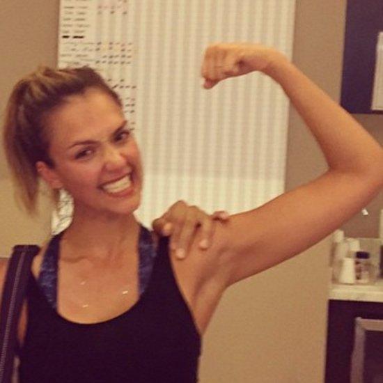 Jessica Alba Fitness Instagrams
