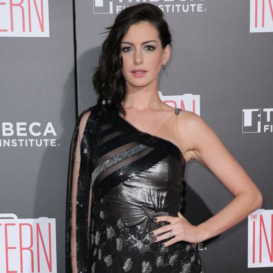 Anne Hathaway's Dress at The Intern New York Premiere