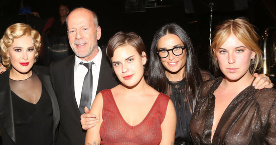 Demi Moore and Bruce Willis Were Proud Parents At Rumer's Broadway Debut