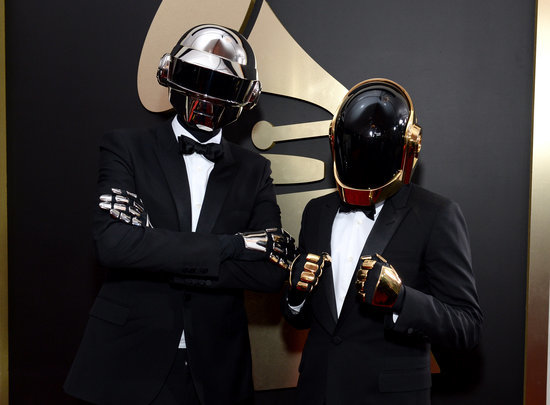 Curious What's Underneath Daft Punk's Robot Helmets?