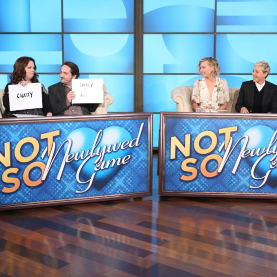 Melissa McCarthy and Ellen DeGeneres Newlywed Game
