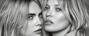 Brace Yourself For the Sexiness You're About to Witness: Cara Delevingne and Kate Moss #SelfieSwap