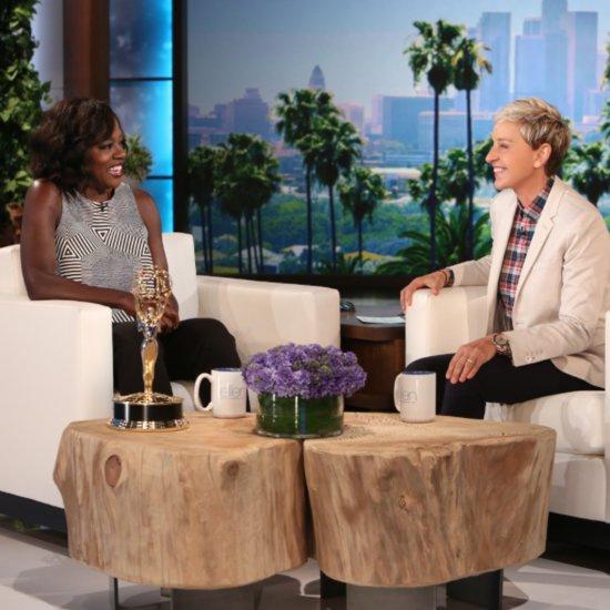 Viola Davis Gets Emmys Gift From Oprah September 2015