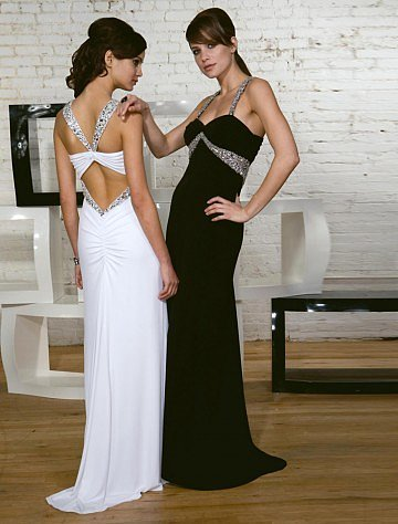 Spaghetti Straps Floor-length Chiffon Prom Dress - Vuhera.com