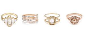Engagement Rings For the Fashion-Obsessed Girl