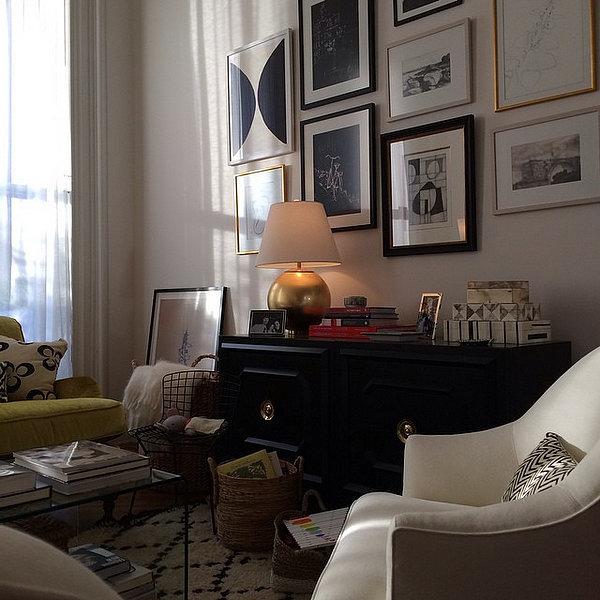 The Living Room No Sugar: Nancy Meyers The Intern Set