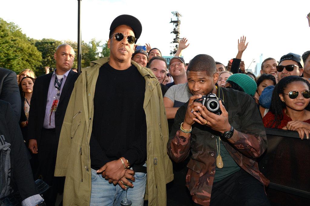 Jay Z and Usher