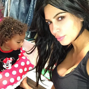 North West Dressed as Minnie Mouse September 2015