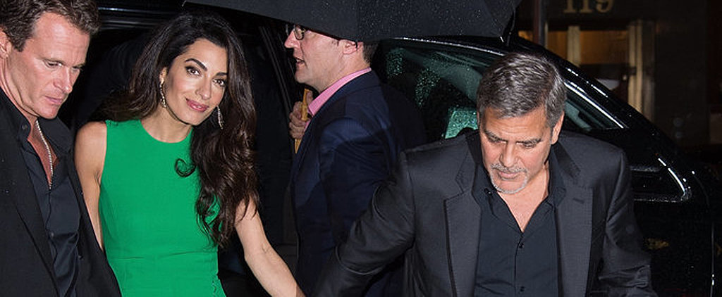 Amal Clooney Steps Out to Support George on His Big Night