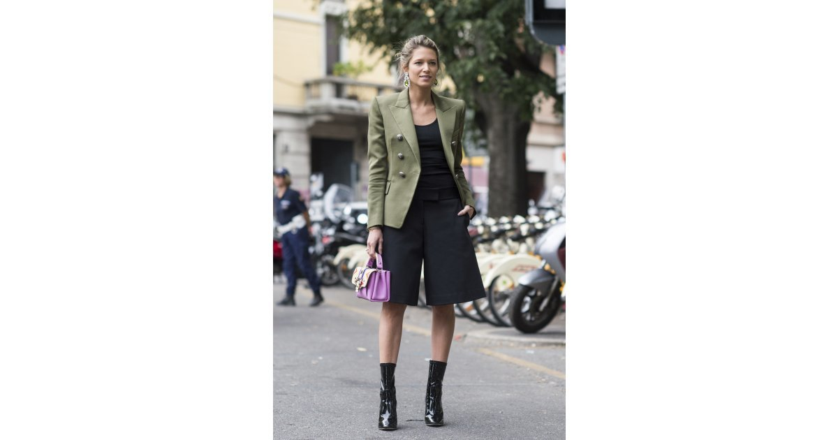 Milan Fashion Week Day 6 All The Best Street Style From Milan Fashion Week Popsugar Fashion