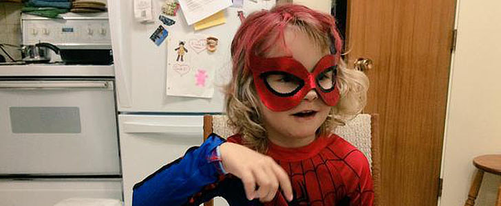 You'll Watch Through Tears as This Little Girl Becomes a Superhero For a Day in Her Hometown