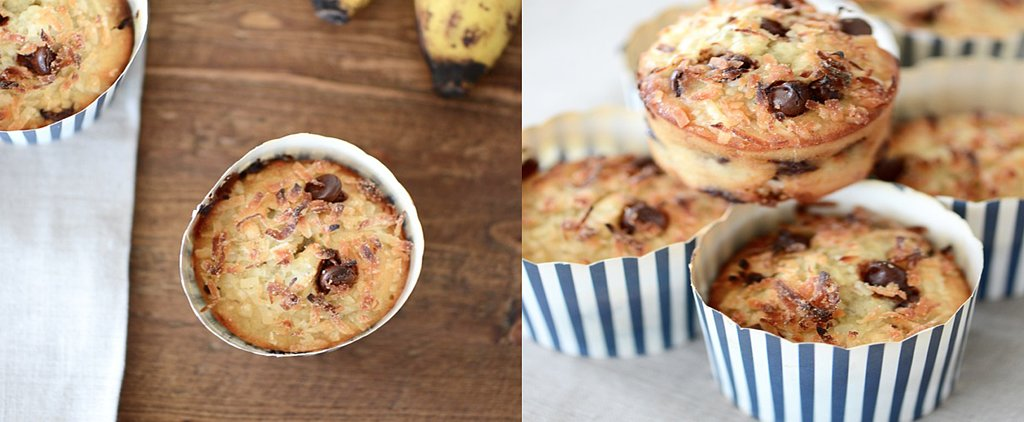 Banana Muffins Made Better With Coconut and Chocolate