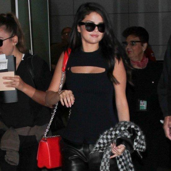 Selena Gomez Airport Style