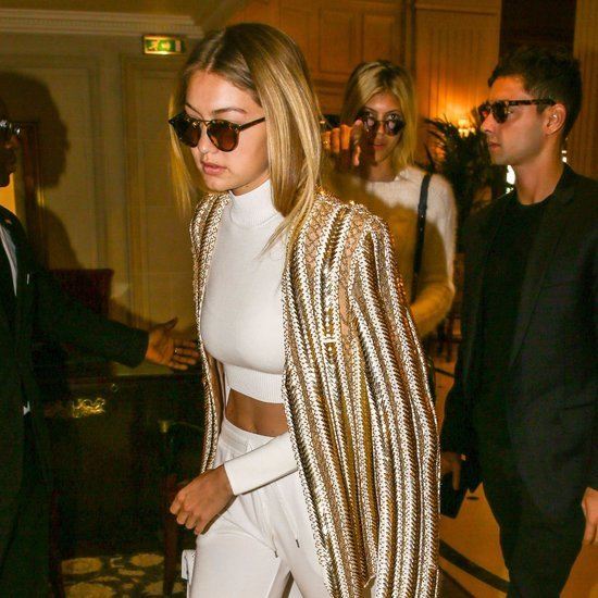 Gigi Hadid and Kendall Jenner Style at Balmain