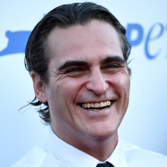 Joaquin Phoenix at PETA Event 2015