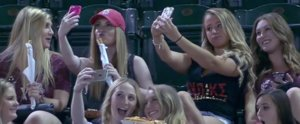 We Support Baseball Selfie Girls, and You Should Too