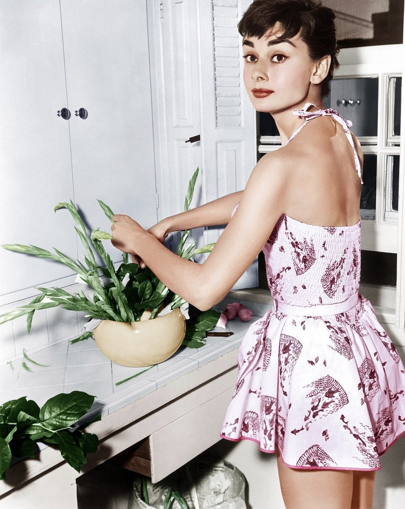 Audrey Hepburn Kitchen Color