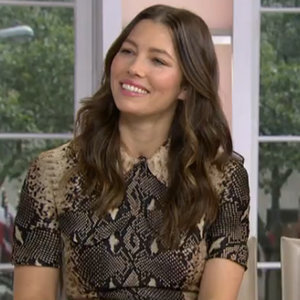 Jessica Biel on the Today Show October 2015 | Video