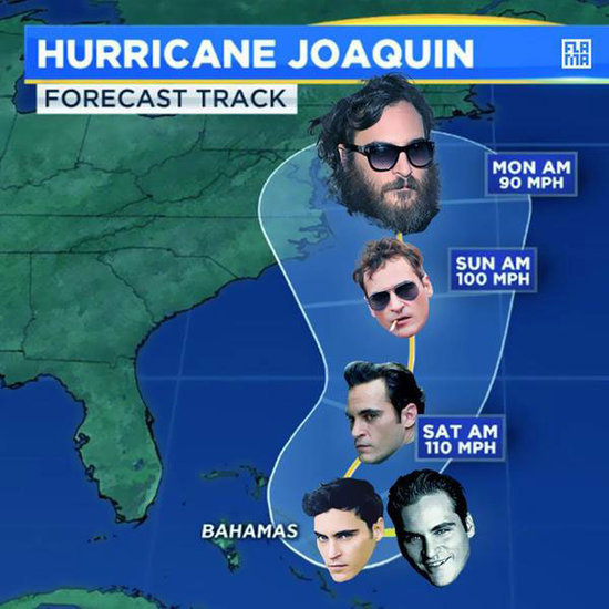 The Internet Pokes Fun at Looming Hurricane Joaquin With Help From - Who Else? - Joaquin Phoenix