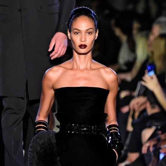 Joan Smalls at Fashion Week Spring 2016