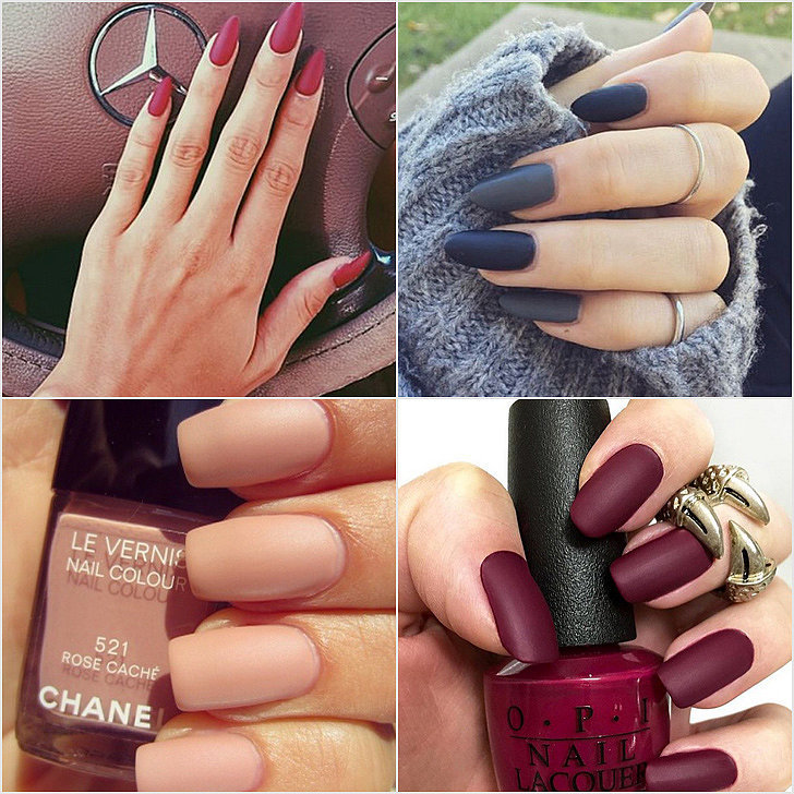 Matte Manicure Ideas | POPSUGAR Beauty