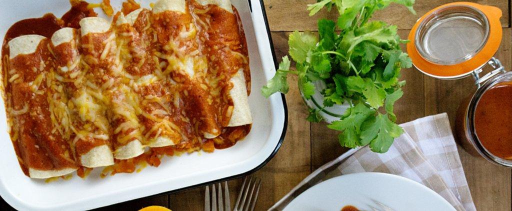 Make-Ahead Butternut Squash Enchiladas Are a Vegetarian's Dream