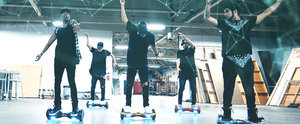 "Bet You Never Thought a Segway Dance to Bieber's ""What Do You Mean?"" Would Be So Cool"