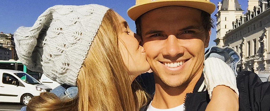 Surfer Julian Wilson Just Proposed to Model Ashley Osbourne . . . In Paris