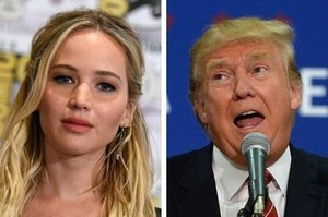 J-Law Says Trump As President Would Be The End Of The World