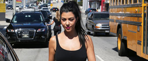 Kourtney Kardashian Continues Her Flurry of Flawless Appearances in LA