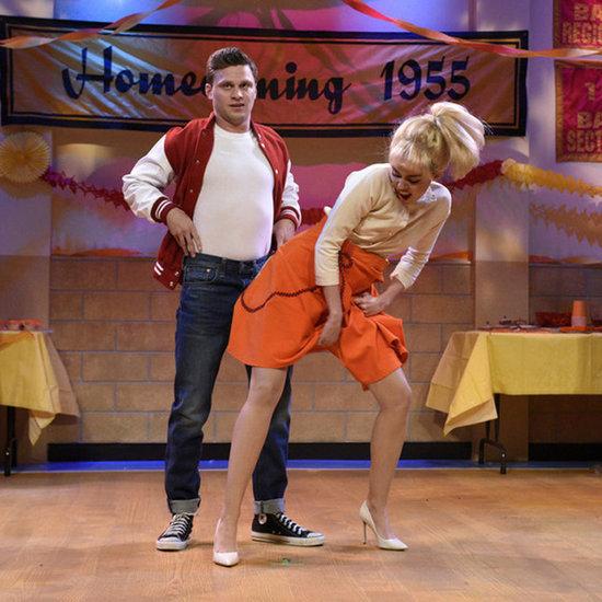 Miley Cyrus's '50s Dance Skit on Saturday Night Live